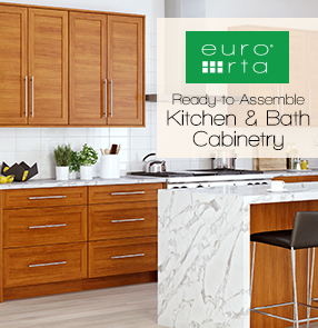 Euro RTA Ready-to-Assemble Cabinets